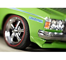 Green Holden Sandman Photographic Print