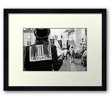 The preacher Framed Print