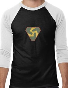 Triskelion Emblem Men's Baseball ¾ T-Shirt