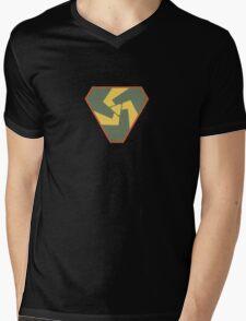 Triskelion Emblem Mens V-Neck T-Shirt