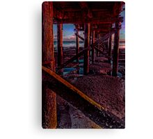 Supporting timber Canvas Print