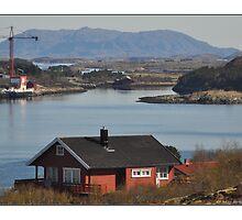 A small piece of Vikna municipality, Norway by Maj-Britt Simble