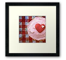 For the love of cupcakes Framed Print