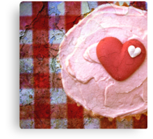 For the love of cupcakes Canvas Print