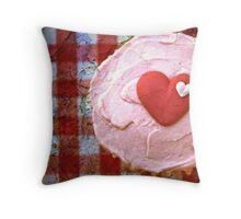 For the love of cupcakes Throw Pillow