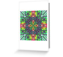 Harlequin Dreams Greeting Card