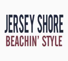 Jersey Shore Beachin' Style One Piece - Long Sleeve
