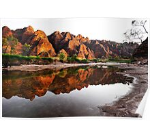 Reflections in Piccaninny Creek in the Bungle Bungles Poster