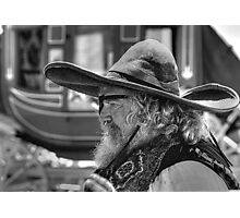 Outlaw - Fort Worth Stockyards - Texas Photographic Print