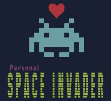 Personal space invader by panda3y3