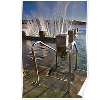 SPLASH - Coogee Ocean Baths Poster
