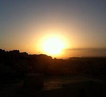 May Mellieha Sunset by winkywoman