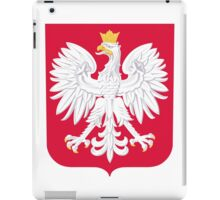 Coat of Arms of Poland iPad Case/Skin