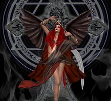 Angel of the Damned by LoneAngel