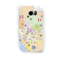 Map of Holy Roman Empire, 1648 Samsung Galaxy Case/Skin