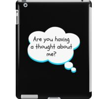 Thought bubble iPad Case/Skin