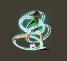 Soccer Player tee and iphone case Unisex T-Shirt