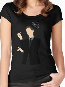 It's Good to be King - Nikola Tesla Women's Fitted Scoop T-Shirt