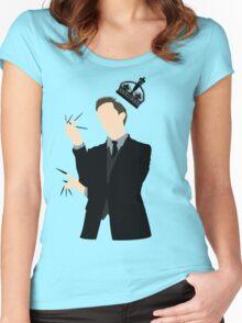 It's Good to be King - Nikola Tesla Women's Fitted Scoop T-Shirt