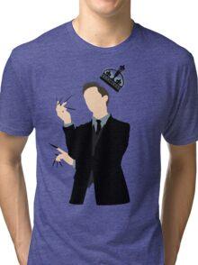 It's Good to be King - Nikola Tesla Tri-blend T-Shirt