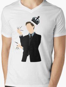 It's Good to be King - Nikola Tesla Mens V-Neck T-Shirt