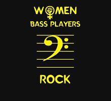 Women Bass Players Rock T-Shirt