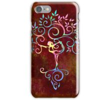 Yoga tree iPhone Case/Skin