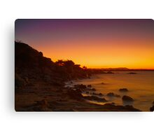 Heaven-ward Colours Canvas Print