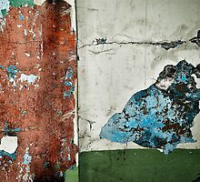 Well worn wall by john forrant