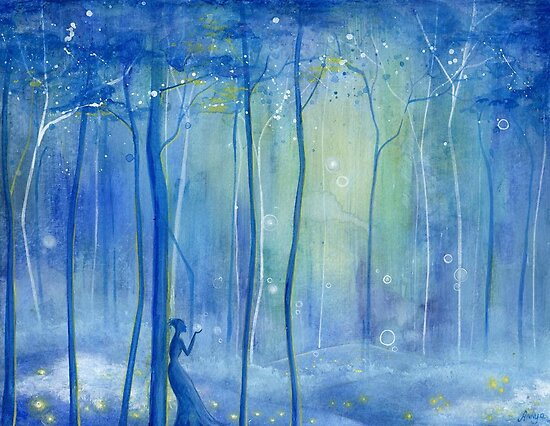 Fairy Fantasy Forest by Annya Kai