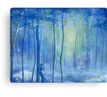 Fairy Fantasy Forest Canvas Print