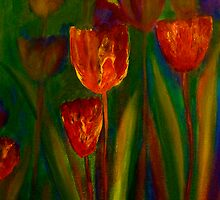 Tulips by Claire Bull