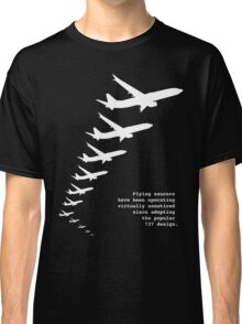 Flying Saucers as 737s Classic T-Shirt