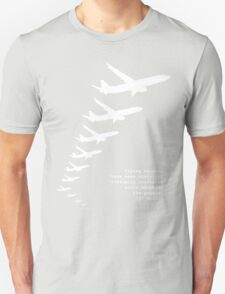 Flying Saucers as 737s T-Shirt