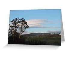 Lenticular Clouds Greeting Card