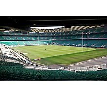 Twickenham Rugby union club Photographic Print