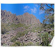 Cliffs, Ben Lomond Mountain, Tasmania, Australia Poster