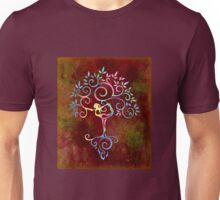 Yoga tree Unisex T-Shirt
