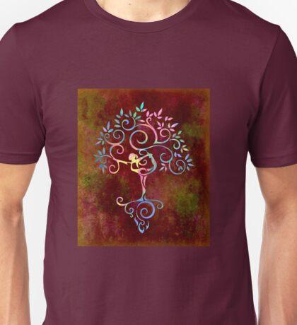 Yoga tree Unisex T-Shirt