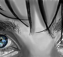 It's All In The Eyes by Skot  Schuler