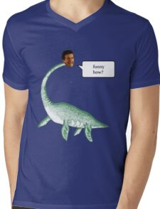 Loch Ness Mobster Mens V-Neck T-Shirt
