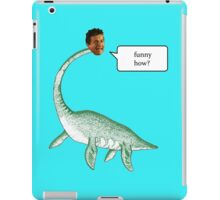 Loch Ness Mobster iPad Case/Skin