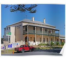 Beachport Hotel, Beachport, South Australia Poster
