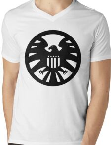 S.H.I.E.L.D. seal Mens V-Neck T-Shirt