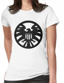 S.H.I.E.L.D. seal Womens Fitted T-Shirt