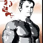 Arnold Schwarzenegger - Time To Get Serious by celebrityart