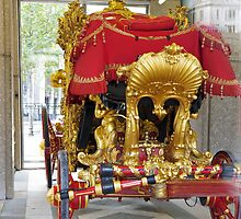 The lord Mayor of London's carriage by Keith Larby