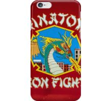 The fire dragon in Chinatown iPhone Case/Skin
