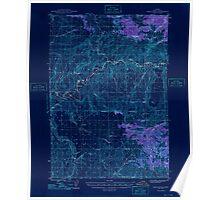 USGS Topo Map Oregon Eagle Rock 282445 1948 62500 Inverted Poster