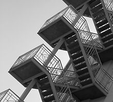 Destiny's stairs by Shaun Colin Bell